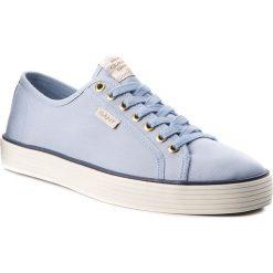 Tenisówki GANT - Baron 16638459 Light Blue G631. Niebieskie trampki męskie GANT, z gumy. W wyprzedaży za 229.00 zł.