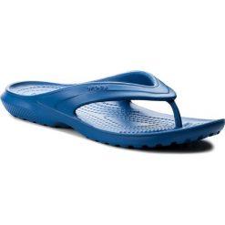 Japonki CROCS - Classic Flip 202635 Blue Jean. Niebieskie klapki damskie Crocs, z tworzywa sztucznego. Za 89.00 zł.