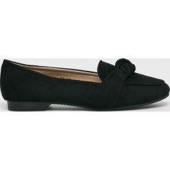 Answear - Baleriny Lily Shoes. Czarne baleriny damskie ANSWEAR, z gumy. W wyprzedaży za 59.90 zł.