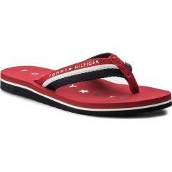 Japonki TOMMY HILFIGER - Tommy Loves Ny Beach Sandal FW0FW02370 Tango Red 611. Klapki damskie marki bonprix. W wyprzedaży za 109.00 zł.