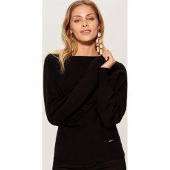 Sweter typu kimono - Czarny. Czarne swetry damskie Mohito. Za 79.99 zł.