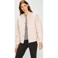 Calvin Klein Jeans - Kurtka bomber. Szare kurtki damskie Calvin Klein Jeans, z jeansu. W wyprzedaży za 459.90 zł.