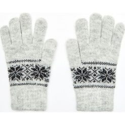 Rękawiczki - Jasny szary. Szare rękawiczki damskie Cropp. Za 24.99 zł.