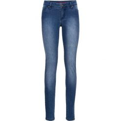 """Dżinsy SKINNY bonprix niebieski """"stone"""". Niebieskie jeansy damskie bonprix. Za 59.99 zł."""