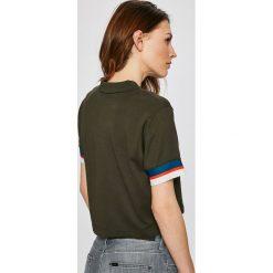 Nike Sportswear - Top. Szare topy damskie Nike Sportswear, z bawełny, z krótkim rękawem. W wyprzedaży za 99.90 zł.