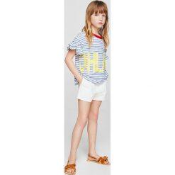 Mango Kids - Szorty dziecięce Nineta 116-164 cm. Spodenki dla dziewczynek marki KIPSTA. W wyprzedaży za 49.90 zł.