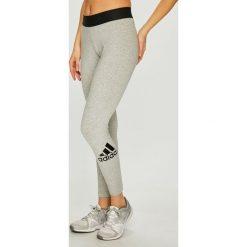 Adidas Performance - Legginsy. Szare legginsy damskie adidas Performance, z bawełny. Za 149.90 zł.