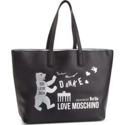 Torebka LOVE MOSCHINO - JC4088PP17LK0000  Nero. Czarne torebki do ręki damskie Love Moschino, ze skóry ekologicznej. Za 719.00 zł.