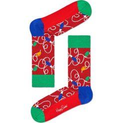 Happy Socks - Skarpety Lamp Christmas. Czerwone skarpety męskie Happy Socks. W wyprzedaży za 29.90 zł.
