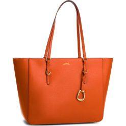 Torebka LAUREN RALPH LAUREN - Bennington 431687507011 Orange. Brązowe torebki do ręki damskie Lauren Ralph Lauren, ze skóry. Za 1,089.00 zł.