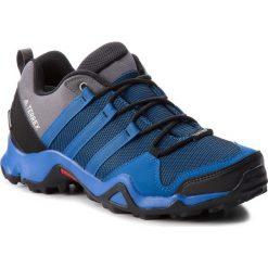 Buty adidas - Terrex Ax2 Cp AQ0786 Blubea/Cblack/Grefiv. Niebieskie trekkingi męskie Adidas, z materiału. W wyprzedaży za 299.00 zł.