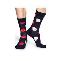 Skarpetki Happy Socks  SMI01-9000. Szare skarpety męskie Happy Socks, z bawełny. Za 24.43 zł.