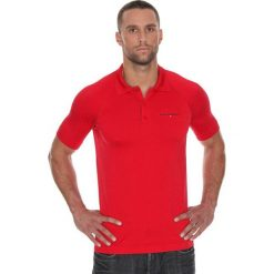 Brubeck Koszulka męska polo Prestige z krótkim rękawem czerwona r. L (SS10920). Koszulki polo męskie marki INESIS. Za 171.23 zł.