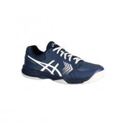 Buty tenisowe Asics Gel Dedicate. Niebieskie buty sportowe męskie Asics. W wyprzedaży za 149.99 zł.