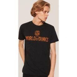 T-shirt World of Tanks - Czarny. Czarne t-shirty męskie House. Za 49.99 zł.