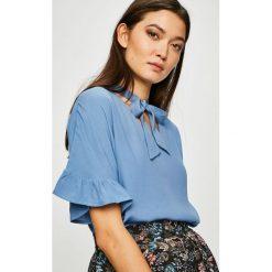 Medicine - Bluzka Vintage Revival. Szare bluzki damskie MEDICINE, z tkaniny, casualowe, z krótkim rękawem. Za 59.90 zł.