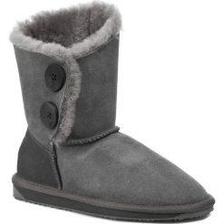 Buty EMU AUSTRALIA - Valery Lo W10541 Charcoal. Szare kozaki damskie Emu Australia, z gumy. W wyprzedaży za 489.00 zł.