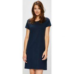 Lauren Ralph Lauren - Koszula nocna. Czarne koszule nocne damskie Lauren Ralph Lauren, z bawełny. Za 269.90 zł.
