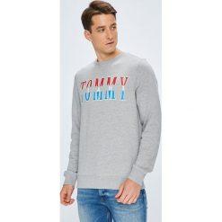 Tommy Jeans - Bluza. Szare bluzy męskie Tommy Jeans, z nadrukiem, z bawełny. W wyprzedaży za 239.90 zł.