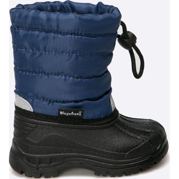 5dca452a Playshoes - Śniegowce dziecięce - Buty zimowe dziewczęce Playshoes ...