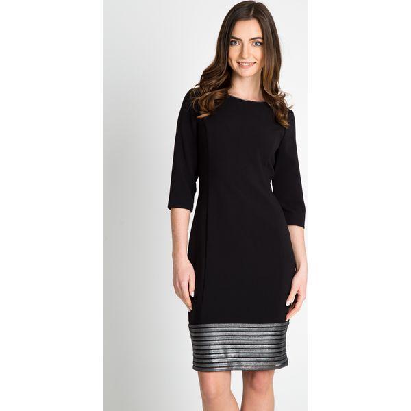 c0bd150dce Czarna ołówkowa sukienka QUIOSQUE - Sukienki damskie marki QUIOSQUE ...