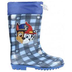 Disney Kalosze Chłopięce Psi Patrol 28 Niebieskie. Niebieskie kalosze chłopięce Disney. Za 69.00 zł.