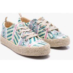 Blukids - Tenisówki dziecęce. Buty sportowe dziewczęce marki bonprix. Za 99.90 zł.