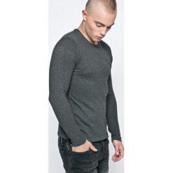 Casual Friday - Sweter. Szare swetry przez głowę męskie Casual Friday, z bawełny, z okrągłym kołnierzem. W wyprzedaży za 79.90 zł.