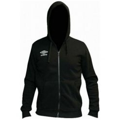 Umbro Bluza Hooded Full Zip Black L. Brązowe bluzy męskie Umbro, z materiału. W wyprzedaży za 69.00 zł.