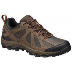 Columbia Buty Trekkingowe Peakfreak Xcrsn Ii Low Leather Outdry Cordovan Sanguine 43.5. Brązowe trekkingi męskie Columbia, ze skóry. W wyprzedaży za 399.00 zł.