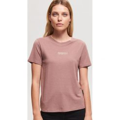 T-shirt z nadrukiem - Fioletowy. T-shirty damskie marki Pulp. Za 29.99 zł.