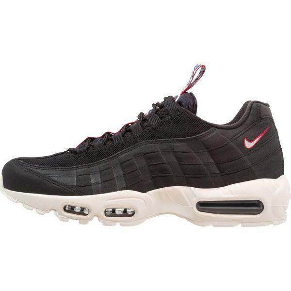 Nike Sportswear AIR MAX 95 Tenisówki i Trampki blacksailgym red czarny Zalando