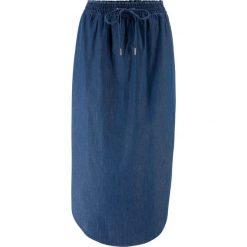 Spódnica ze sztucznej skóry bonprix oberżyna