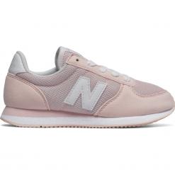 New Balance KL220P2Y. Szare buty sportowe dziewczęce New Balance, na lato, z materiału. W wyprzedaży za 99.99 zł.