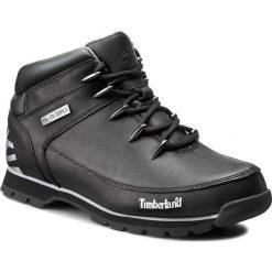 Trapery TIMBERLAND - Euro Sprint A17JR/TB0A17JR0011 Black. Czarne śniegowce i trapery męskie Timberland, z gumy. W wyprzedaży za 469.00 zł.