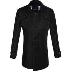 Płaszcz PIETRO 13-03LK. Czarne płaszcze męskie Giacomo Conti, na jesień, z materiału, biznesowe. Za 399.00 zł.