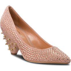 Półbuty TWINSET - Decollete CA8TLC Pale Pink 03025. Czerwone półbuty damskie Twinset, ze skóry, eleganckie. W wyprzedaży za 1,309.00 zł.