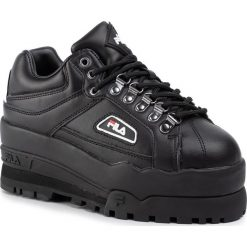Sneakersy FILA Disruptor II Wedge Wmn 5FM00704.014 BlackWhiteFila Red