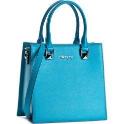 Torebka KAZAR - Mel 29900-01-10 Niebieski. Niebieskie torby na ramię damskie Kazar. W wyprzedaży za 449.00 zł.