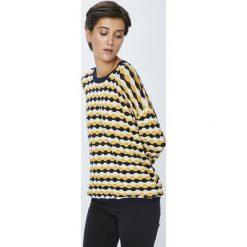 Pepe Jeans - Sweter Dami. Szare swetry damskie Pepe Jeans, z bawełny, z okrągłym kołnierzem. Za 299.90 zł.