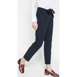 Only - Spodnie. Szare spodnie materiałowe damskie Only, z dzianiny. W wyprzedaży za 129.90 zł.