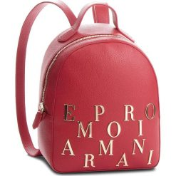 Plecak EMPORIO ARMANI - Y3L020 YH60A 80133  Ruby Red. Czerwone plecaki damskie Emporio Armani, ze skóry. Za 1,139.00 zł.