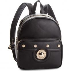 Plecak VERSACE JEANS - E1VSBBM2 70786 899. Czarne plecaki damskie Versace Jeans, z jeansu, eleganckie. Za 749.00 zł.
