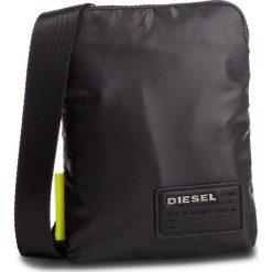 Saszetka DIESEL - F-Discover Smallcros X04815 P1157 T8013  Black. Czarne saszetki męskie Diesel, ze skóry ekologicznej, młodzieżowe. Za 229.00 zł.