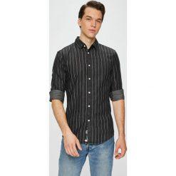 Review - Koszula. Czarne koszule męskie Review, z długim rękawem. W wyprzedaży za 99.90 zł.