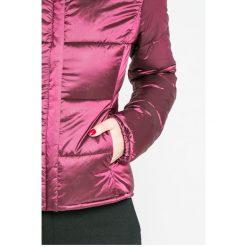 Trussardi Jeans - Kurtka puchowa. Fioletowe kurtki damskie TRUSSARDI JEANS, z jeansu. W wyprzedaży za 769.90 zł.