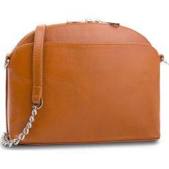 Torebka CREOLE - K10563 Koniak. Brązowe torebki do ręki damskie Creole, ze skóry. Za 189.00 zł.