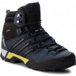 Buty adidas - Terrex Scope High Gtx GORE-TEX BB4587  Corblu/Cblack/Conavy. Niebieskie trekkingi męskie Adidas, z gore-texu. W wyprzedaży za 639.00 zł.