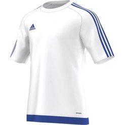 Adidas Koszulka piłkarska męska Estro 15 biało-niebieska r. XXL (S16169). T-shirty i topy dla dziewczynek Adidas. Za 42.00 zł.