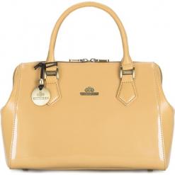 Torebka damska 25-4-581-C. Brązowe torebki do ręki damskie Wittchen, w paski. Za 799.00 zł.